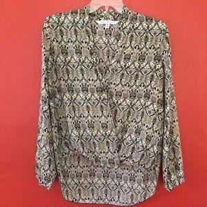 Max Studio NWOT printed blouse